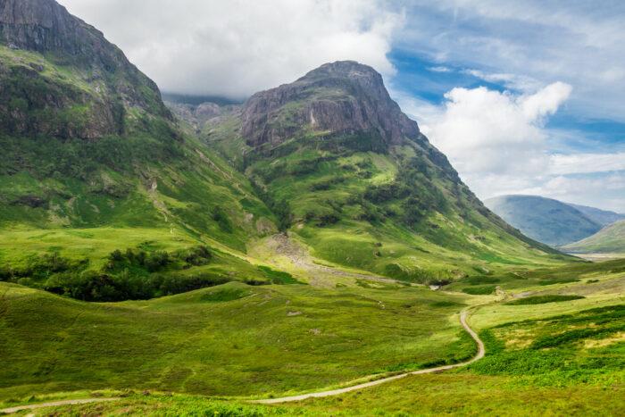 Scottish Highlands photo via Depositphotos