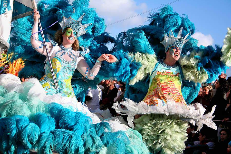 Brazilian Samba Dancers