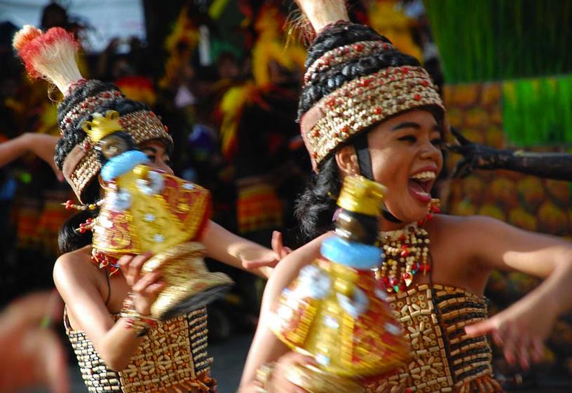 Dinagyang Festival in Aliwan Fiesta