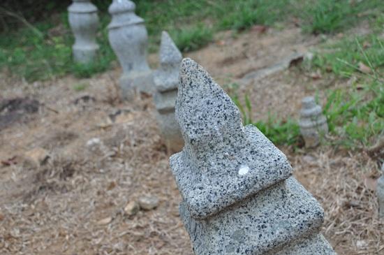 Muslim burying grounds