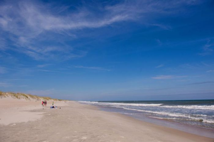 Ocracoke Island Beach, North Carolina by Corey Balazowich via Flickr CC