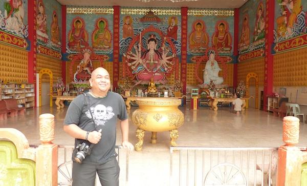 Melo at Wat Photivihan