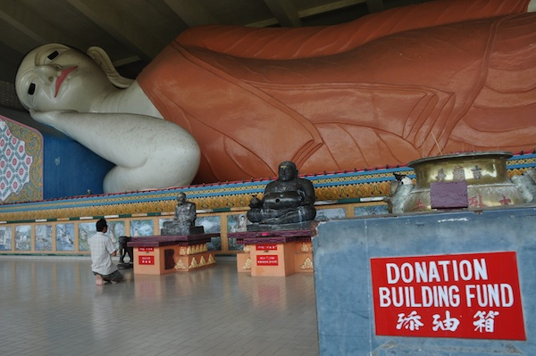 The Largest Reclining Buddha in Southeast Asia