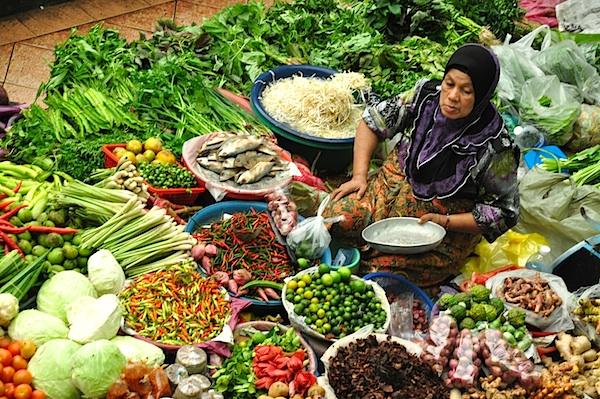 Vendor at Pasar Siti Khadijah Market