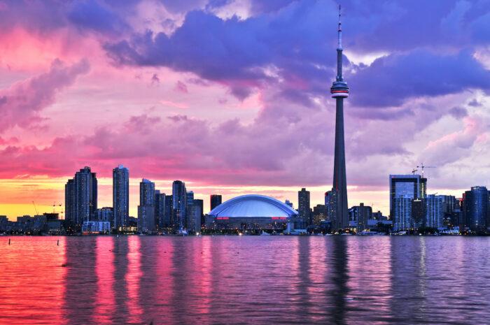 My First Time in Toronto Canada photo via Depositphotos