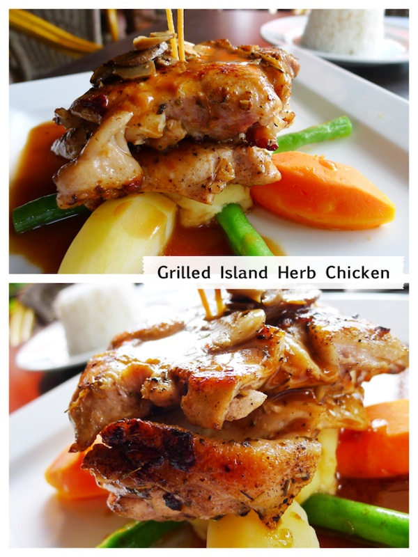Grilled Island Herb Chicken