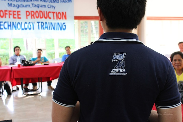 Nescafe Davao Day1-Nestle personnel give a coffee production workshop to local coffee farmers about how to maximize their farms' potential.
