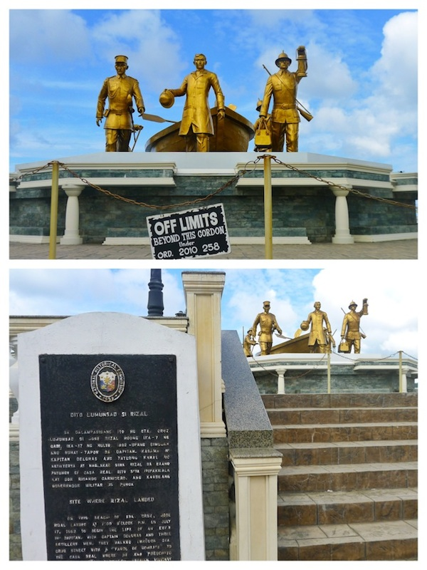 Site where Dr. Jose Rizal Landed