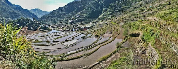 Batad Rice Terraces in Ifugao by Ian dela Pena