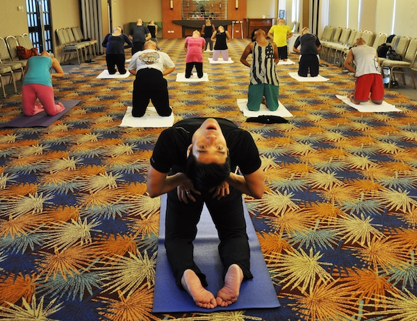 Yoga Sessions at Summit Ridge Tagaytay