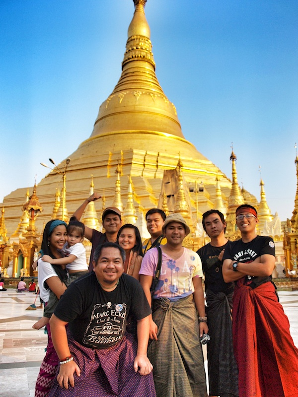 Pinoy Travel Bloggers in Myanmar