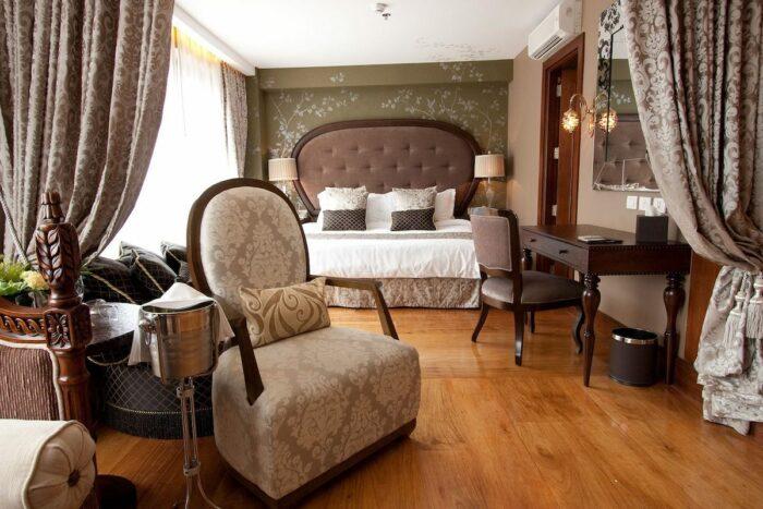 Queen Isabela Suite at Hotel Celeste Manila