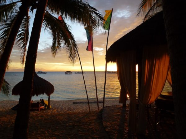Sunset in Coco Grove Siquijor Travel Guide