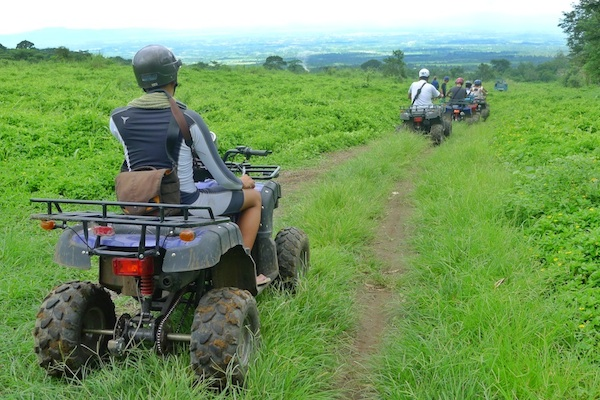 ATV Adventure in Mount Isarog National Park