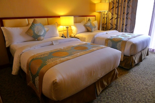 Comfortable Bed at Avenue Plaza Hotel in Naga City