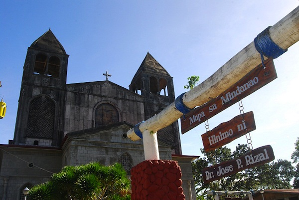 A hero's legacy. One of the legacies that national hero Dr. Jose Rizal left in Dapitan is a relief map of Mindanao, a popular landmark in the city. (Photo courtesy of fantasylandtours.com)