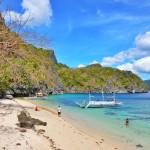 Paradise Beach in Cadlao Island