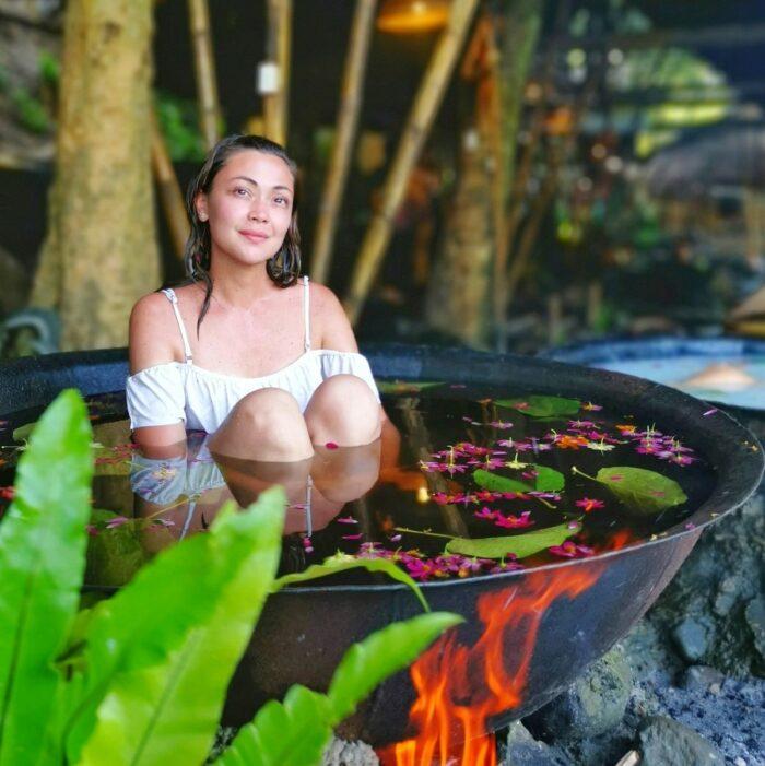 Kawa Hot Batch Jodi Sta Maria photo via Calawag Mountain Resort