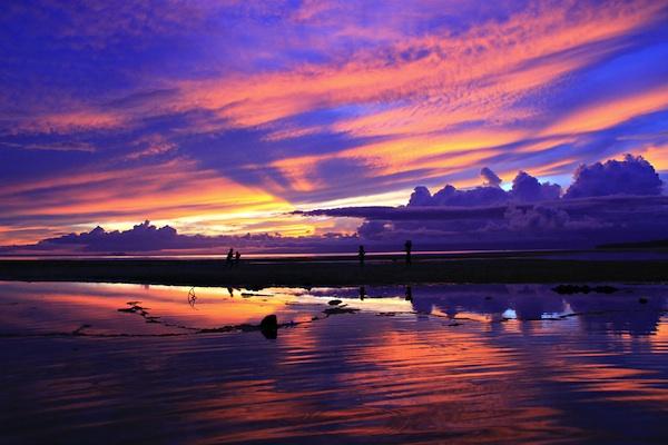 Sunset in San Pedro, Siquijor