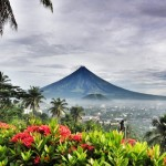 View of Mayon Volcano from The Oriental Hotel