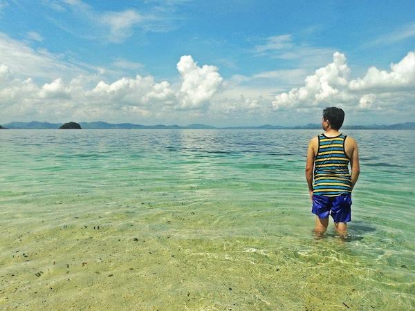 Mabaay Island or Martelinos White Sand of Capiz