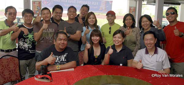 Travel Bloggers, Trad Media Participants and AirAsia Zest Officers in Miri