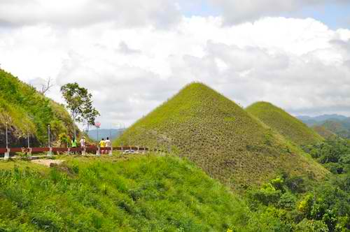 Chocolate Hills in Carmen Bohol