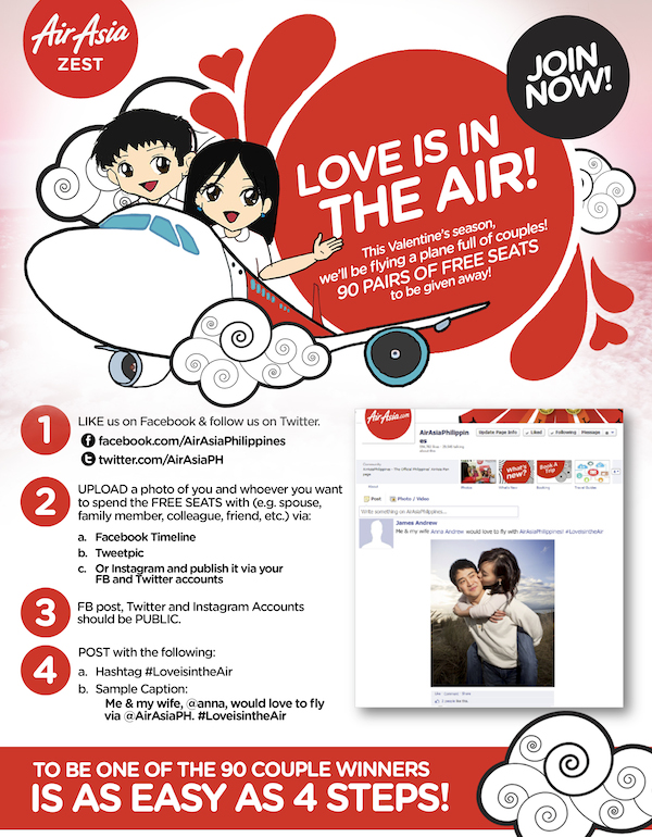 Love is in the air contest mechanics