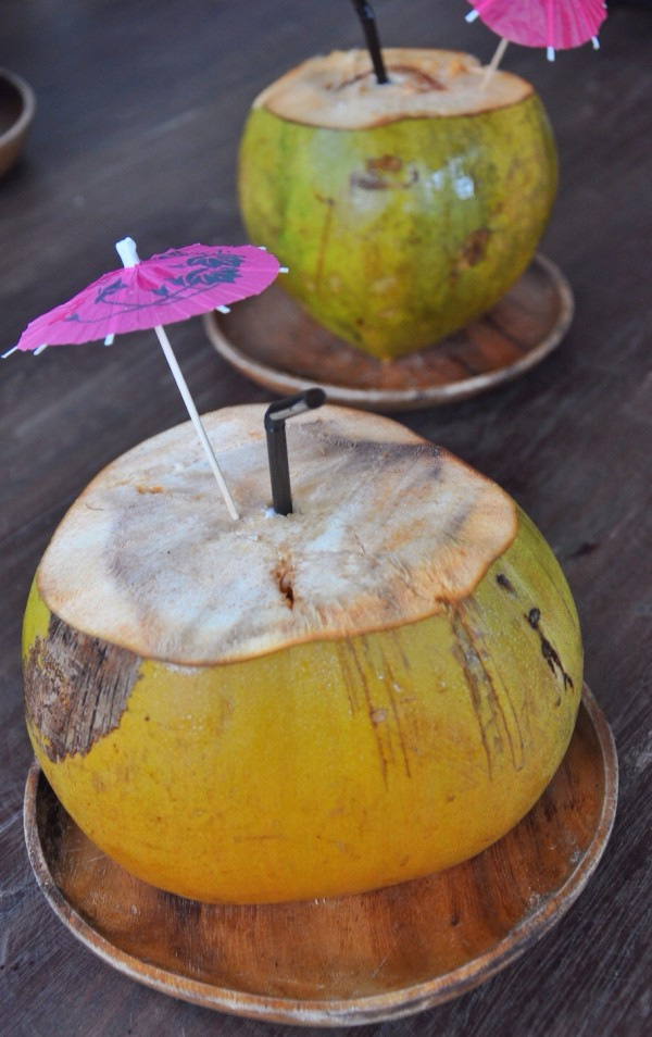 Fresh Coconut Welcome Drink