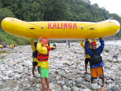 White Water Rafting in Chico River - Kalinga