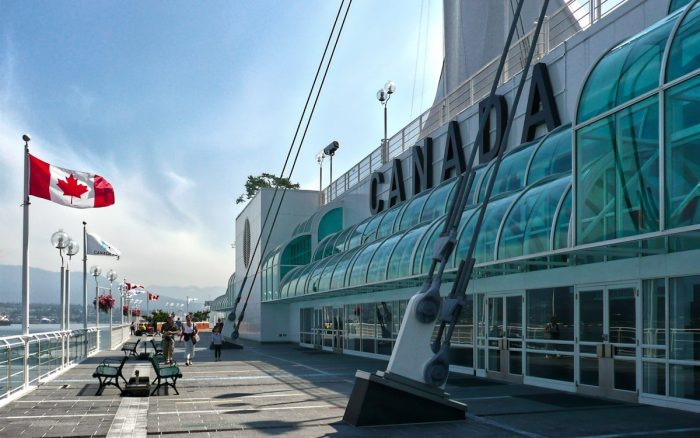 Canada Place by Pascal Bernardon via Unsplash