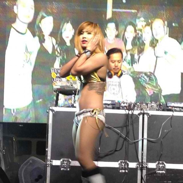 Dancer at Smart Live All Out Party at Spade Super Club