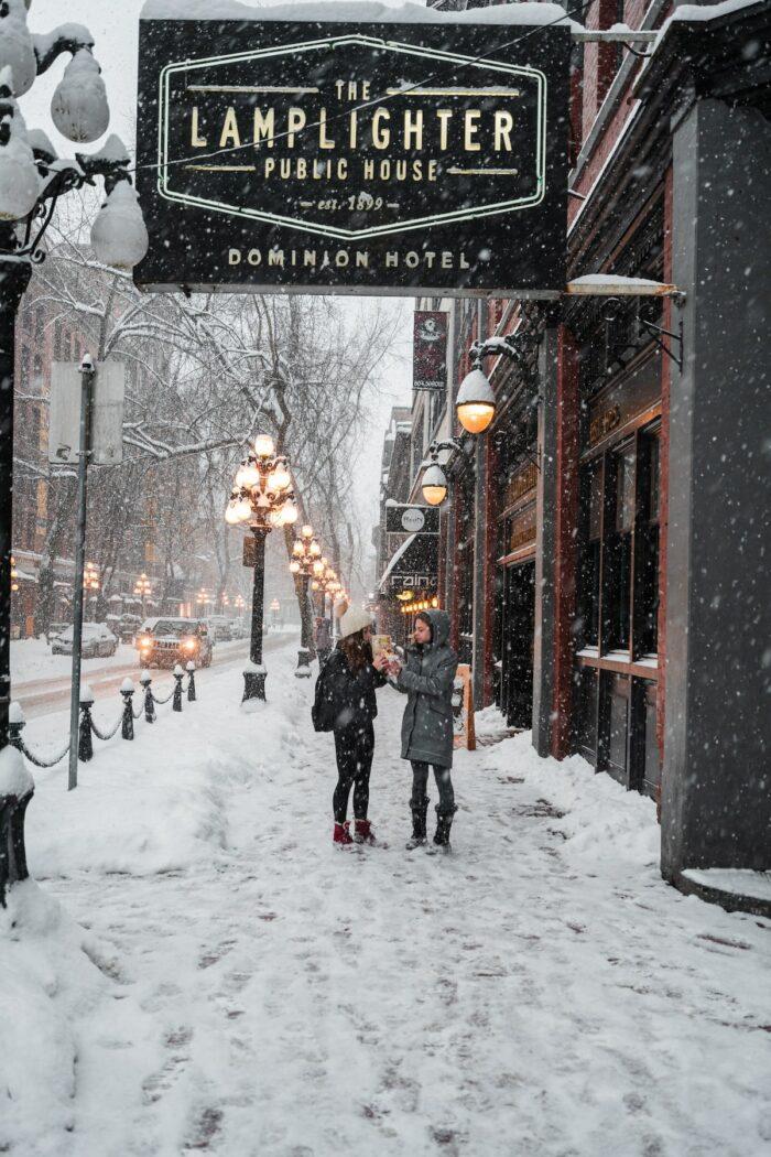 Gastown Vancouver by Aditya Chinchure via Unsplash