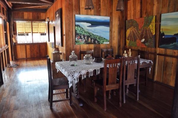Inside Dona Aurora Aragon Quezon House
