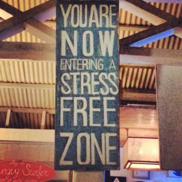 Stress Free Zone at Bay's Inn