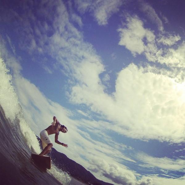 Surfing is more fun in Baler