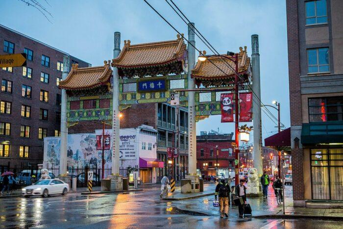 Vancouver Chinatown Millennium Gate by Suman Chakrabarti via Wikipedia CC