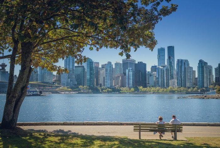 View from Stanley Park in Vancouver photo via Pixabay
