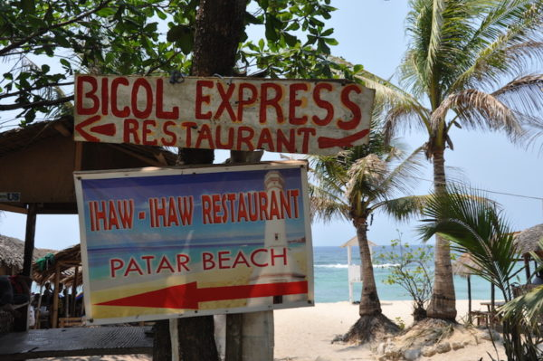 Where to eat in Patar Beach