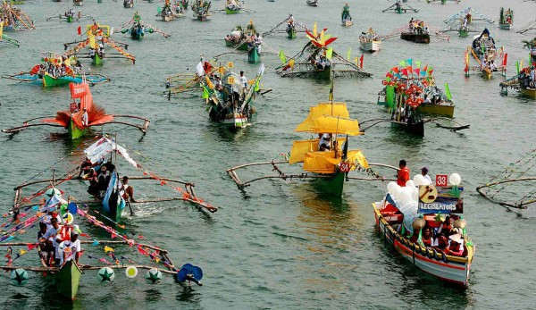 Pistay Dayat Grand Fluvial Parade in Pangasinan
