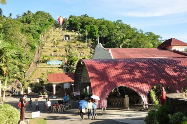Via Dolorosa Grotto in Lucban Quezon