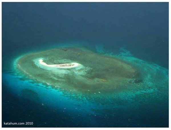 Aerial Photo of Seco Island