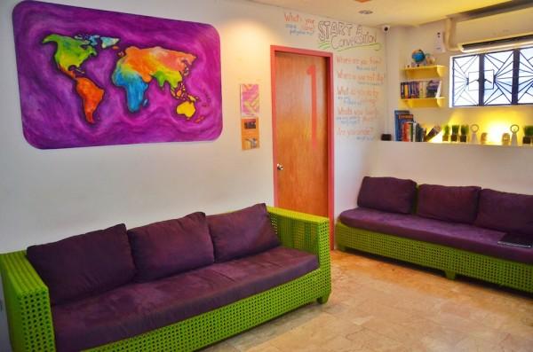 Hostels Communal Living Room