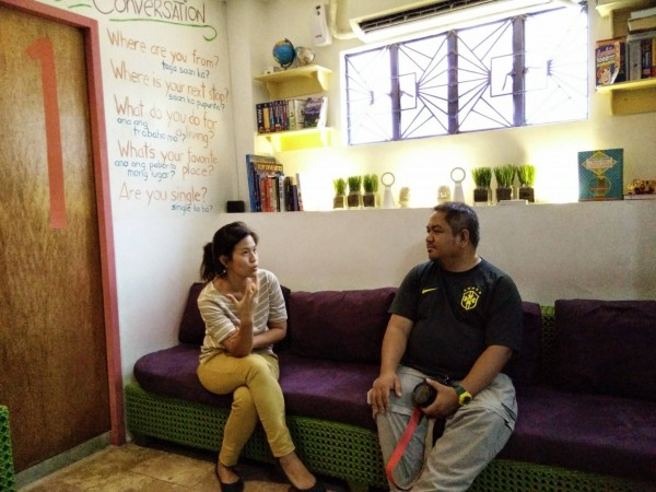 Quick Chat with Celina Cruz, one of the friendly owners of MNL Boutique Hostel Manila
