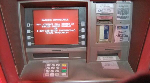ATM in Boracay by Toby Simkin