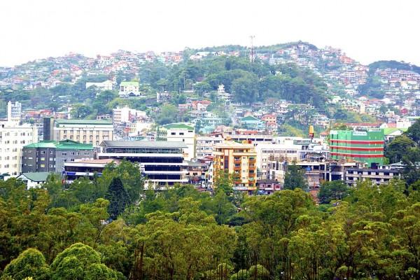 Baguio City Landscape by Edpan Newyork Wikipedia