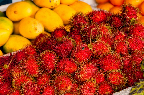 Fresh Fruits from Tagaytay by Luis Mazier