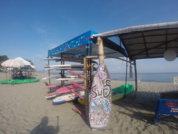 Surfing in San Juan La Union