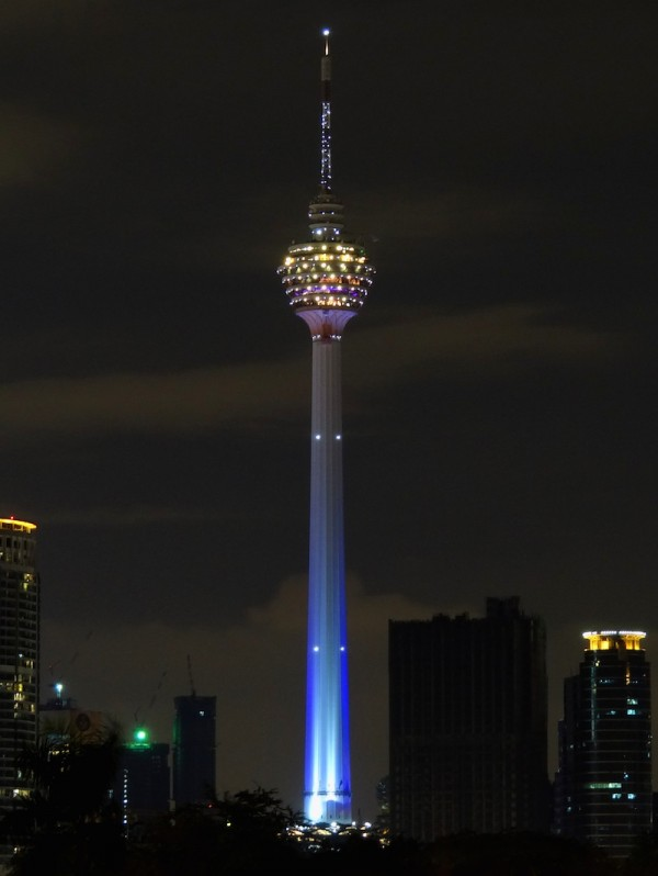 KL Tower By Night