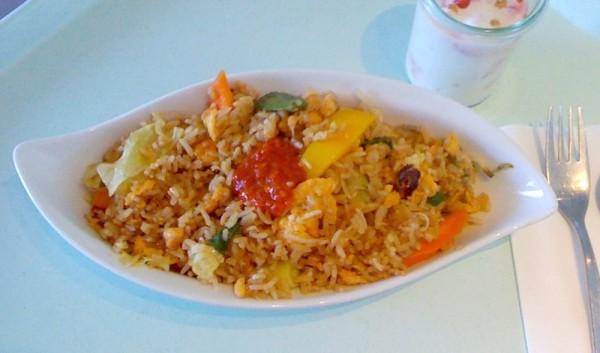 Kao Pad Nam Prik Mun Goong by Jabb